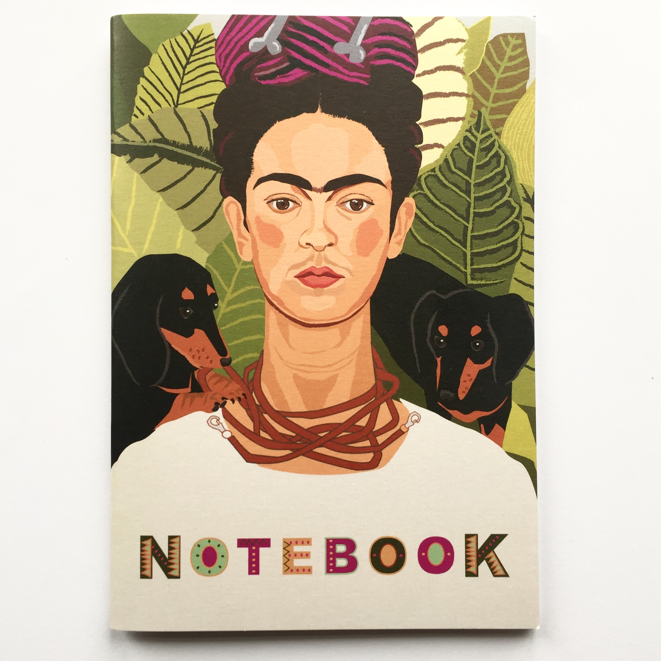 Talking Tables Note A5 Boho Frida Khalo Notebook One Multicolour
